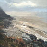 Ian Price Winter Wave 24 x 24 Inches