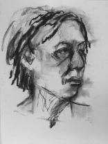 Joanna sketch by Ian Price