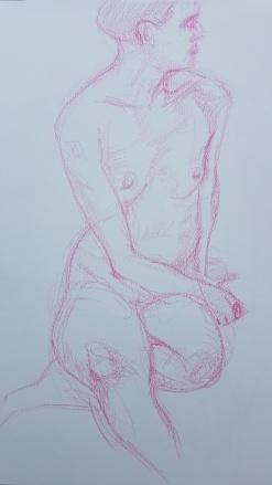 Pink Crayon