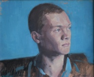 Will, 12 x 10 inches oil on board