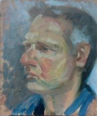 Richard Oil Sketch 1hr30