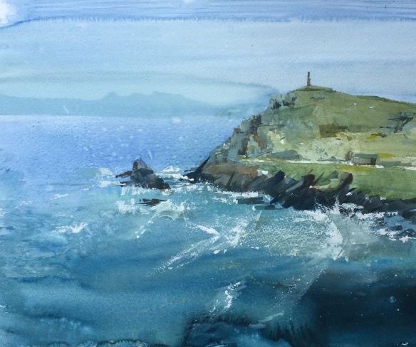 Cape Cornwall from Carn Groose