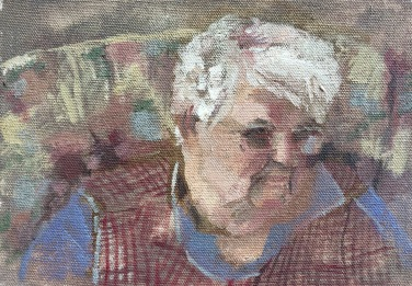 Mam Oil Sketch