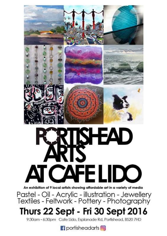 Portishead Lido flyer