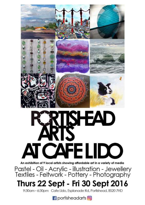 Portishead Lido flyer