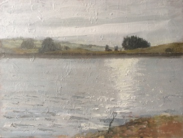 Gone Fishing, usk, by Ian Price